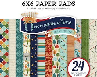 Echo Park Paper ONE UPON a TIME -Prince - 6x6 Scrapbook Paper Pad