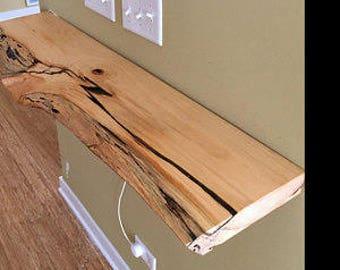 8 inch floating shelf bracket 2 inch wide x 1/4 thick. Hidden floating shelf brackets.
