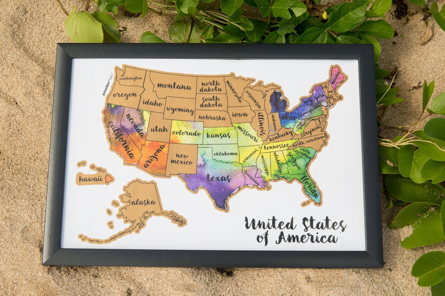 Valentines day sale scratch your travels usa map zoom gumiabroncs Image collections