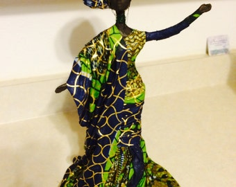 Sherika Statue High Praise collection Ebele-PRICE REDUCTION, Now 95.00!