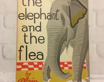 The Elephant and the Flea Alain 1956 Whittlesey House Books for Young People