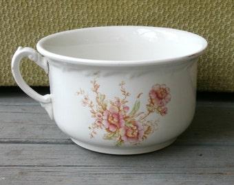 Antique Porcelain Chamber Pot Maddocks Lamberton Works  1888-1909
