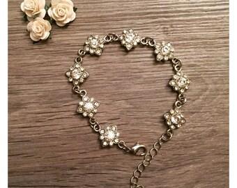 Star Gem Bracelet - Bridesmaid Jewellery