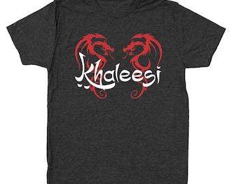 Khaleesi Got Queen Princess Men's Tri-Blend T-Shirt DT0467