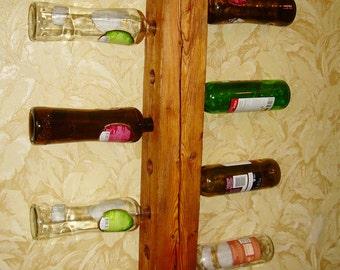 "Solid wood wine bar,home bar,bar furniture,wine holder, wine shell, wall wine rack ,home bar ,wine holder,wine bottle rack   ""Old Town""."