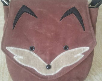 PDF Pattern for Foxy Saddlebag Crossbody Purse, Purse Pattern, Fox Purse, Handbag, Crossbody