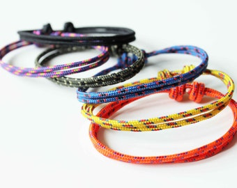Set of 6 - Simple Rope Bracelet