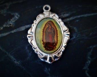 1 medal Virgin of Guadalupe 23 mm