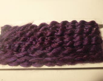 purple yarn trim fibers 3 yards