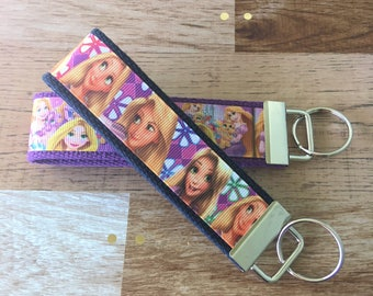 Rapunzel Key Fob Wristlets