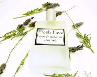 Fresh Face-Skin Brightener, Rose Toner, Hyaluronic Acid Toner, Acne Treatment, Collagen Product, Anti-Aging Toner, Skin Tightening Tonic