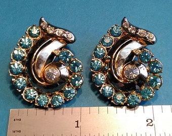 Vintage, Pair of Dress Clips. Gently Used. Lot BB