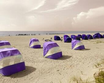 Beach Tent Cabanas Seaside Photography Florida seaside vacations photo