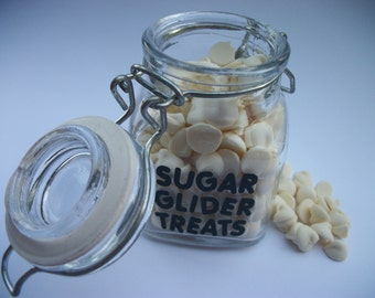 Sugar Glider Treat Jars