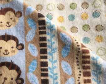 Baby Blanket - Monkey Business