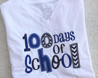 Personalized 100 Days Older of School Shirt