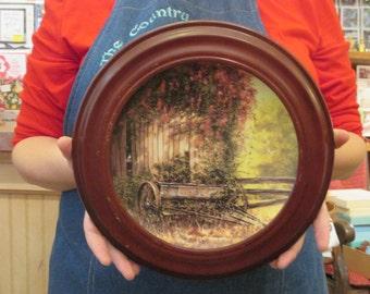 Country Nostalgic plates