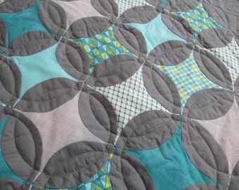 Wall hanging quilt - custom quilt - patchwork quilt - handmade quilt - crib quilt - masculine quilt - toddler quilt - baby boy quilt