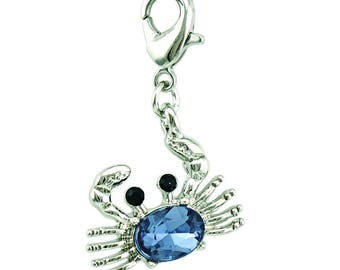Blue Crab Charms pendant