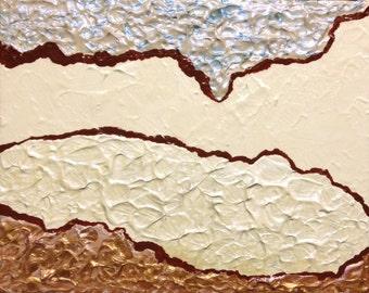 """Original Acrylic Painting - """"Pathways"""" - 8"""" x 10"""""""