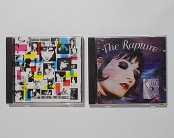 Siouxsie & The Banshees CD Lot The Rapture Once Upon A Time Singles 2 CDs New Wave Alternative Siouxsie Sioux