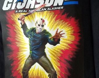 Jason Voorhies Friday The 13th GI Jason GI Joe Mashup Shirt S-2XL