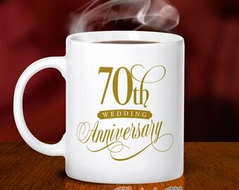70th Wedding Anniversary, 70th Wedding Gift, Platinum Wedding, 70th Anniversary, Wedding Anniversary, 70 Year Anniversary, 70th Wedding Idea