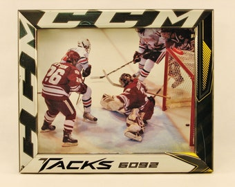 8 x 10 Hockey Stick Frame - FREE SHIPPING in US  (#6336)