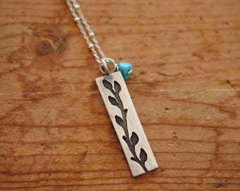 Climbing Vine Necklace | Sterling Silver