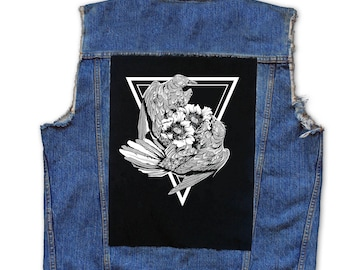 Dancing Nature Back Patch | Patches | Punk Patches