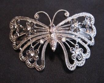 Vintage Butterfly Barrette