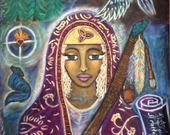 Divine Feminine Print-Sacred Guide