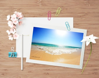 Greeting Cards, Photography cards, Beach Photography, Blank Note Cards, Photography Note Card, Beach Cards, Blank Cards, Dominican Republic