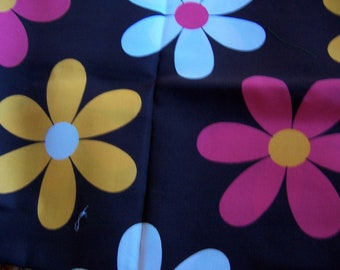 heavy duty cotton flower power fabric