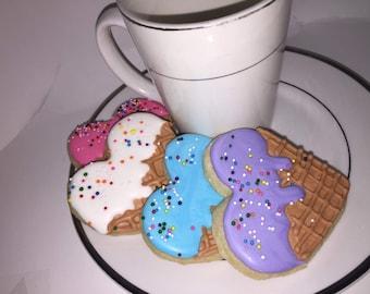 Heart Ice Cream Cookies
