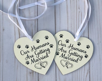 Animal Lovers Engagement Photo Prop/Wedding Day Prop