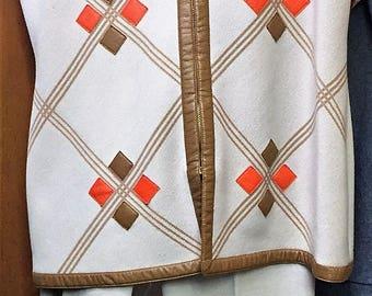 Carnaby C1980 Vintage Vest and Slacks Set FUNKY COOL! Size 16