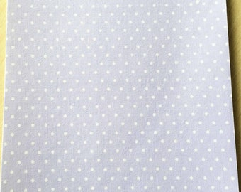 Fabric adhesive pattern: lilac dots 200 x 150 mm (A5)