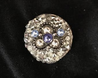 Silver Circle Bindi