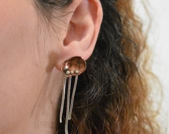 Handmade Medusa-Inspired Earrings