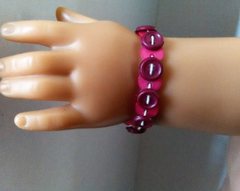 Button Bracelet for American Girl Doll, 18 inch Doll Clothes