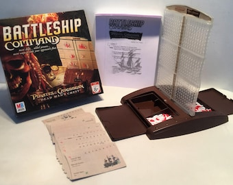 Pirates Of The Caribbean Battleship Command in Great Condition FREE SHIPPING