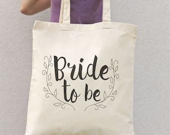 Bride to be tote bag-women bride bag-bride bag-wedding tote bag-future Mrs tote bag-bridal tote bag-personalized tote- NATURA PICTA NPTB064