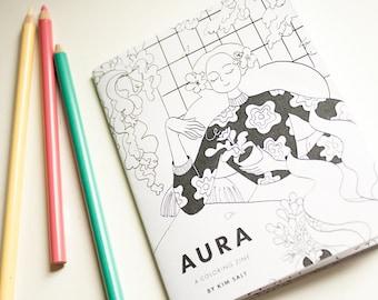 Aura – A magical ladies coloring zine