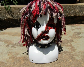Snaggles the  Clown Bust