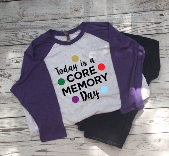 This Is A Core Memory Day (Disney Inside Out T-Shirt)