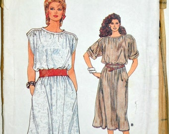 1980s Vogue Vintage Sewing Pattern 8971, Size 8-10-12