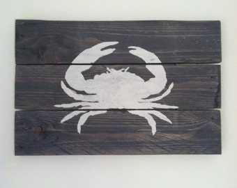 Rustic crab art