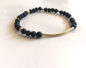 Iris, Diffuser bracelet, bracelet diffuser, lava stone bracelet, diffuser jewelry, gold diffuser bracelet, essential oil diffuser, Diffuser