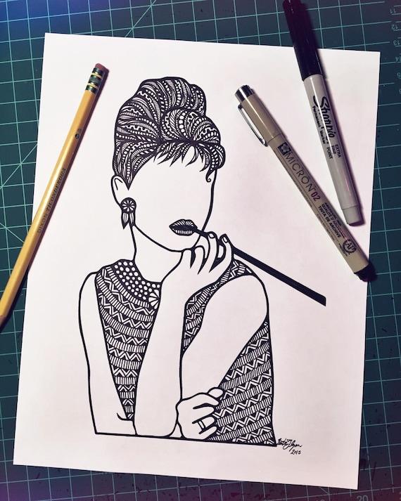 Zentangled - Miss Aubrey